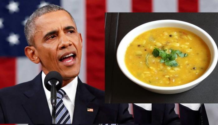 ओबामांनी सांगितला...डाळीचा भन्नाट किस्सा