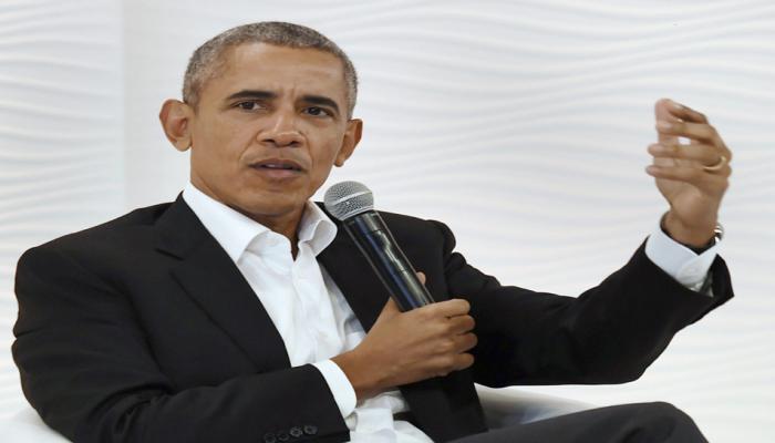 'या' शर्यतीमध्ये बराक ओबामांनी केली डोनाल्ड ट्रम्पवर मात