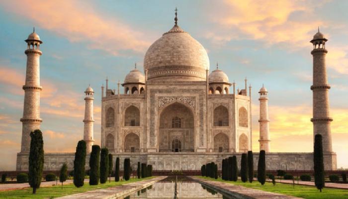 ताज महाल दुसऱ्या क्रमांकावर !