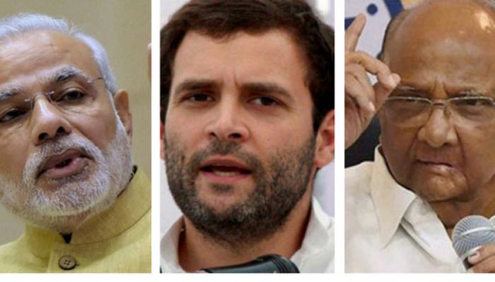 राहुल गांधी काँग्रेस अध्यक्ष, मोदी-पवारांची पहिली प्रतिक्रिया