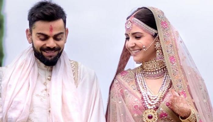 विराट कोहली-अनुष्का शर्मा यांच्या लग्नातील फोटो