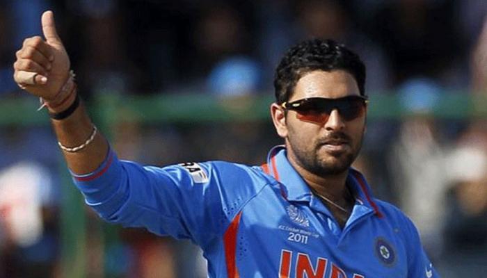 युवराज सिंगचा रेकॉर्ड तुटला, 'या' क्रिकेटरने एका ओव्हरमध्ये लगावले ७ सिक्सर