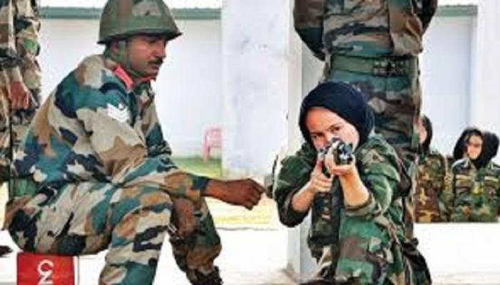 अफगाणिस्तानच्या महिला लष्करी अधिकाऱ्यांना भारताचं प्रशिक्षण...