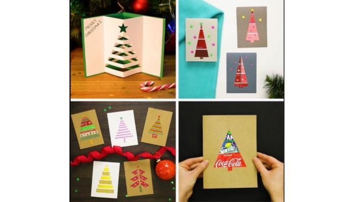 Christmas 2017 - अशी बनवा DIY ख्रिसमस कार्ड्स
