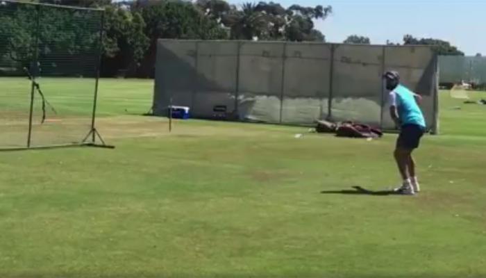 VIDEO: लग्न आणि ३ आठवड्यांच्या सुट्टीनंतर मैदानात उतरला विराट