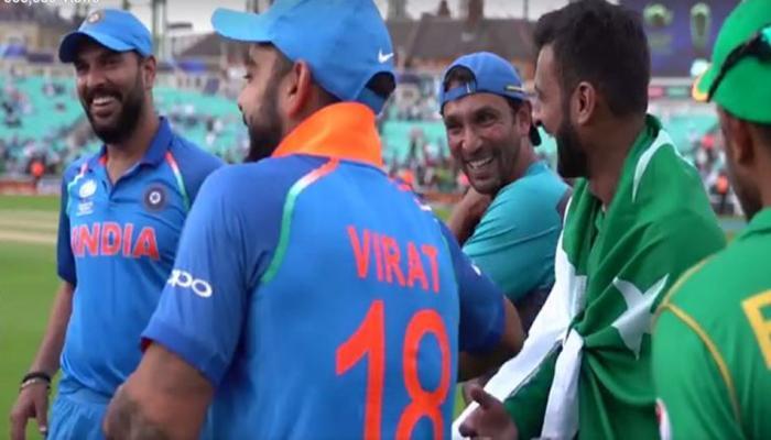 भारत-पाकिस्तान टीमचा हा व्हिडिओ बनला 'ट्विट ऑफ द इयर'