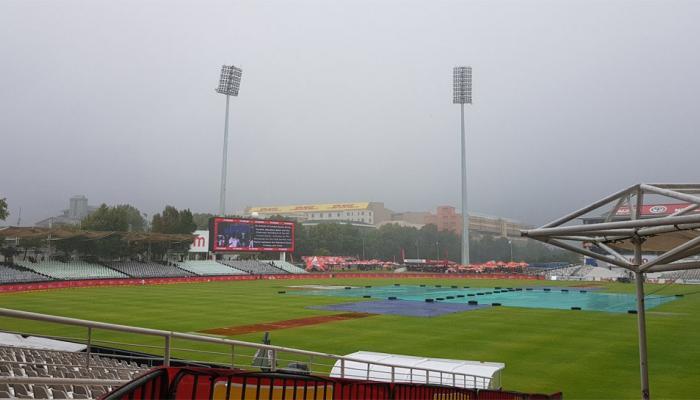 IndvsSA: पावसामुळे तिसऱ्या दिवसाचा खेळ रद्द
