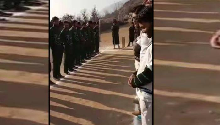 जम्मू-काश्मीरमध्ये मॅचपूर्वी पाकिस्तानचं राष्ट्रगीत म्हटल्याप्रकरणी ४ क्रिकेटर्स अटकेत