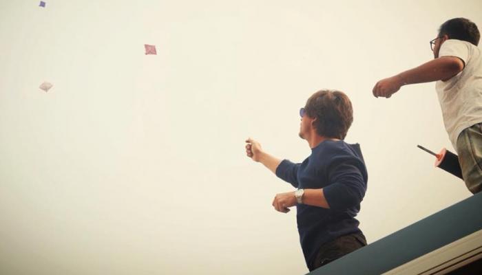 अभिनेता शाहरुख खानने 'झिरो'च्या सेटवर साजरी केली संक्रांत