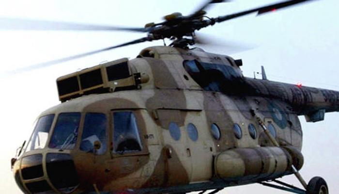लष्कराचे हेलिकॉप्टर नादुरूस्त, सटाणात इर्मजन्सी लँडिंग