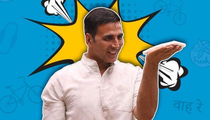 अक्षय कुमारचा बहुचर्चित सिनेमा 'पॅडमॅन' चे पोस्टर रिलीज