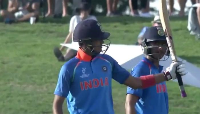 VIDEO: वडिलांचं स्वप्न पूर्ण करण्यासाठी आलेल्या क्रिकेटरची अंडर-१९मध्ये धूम