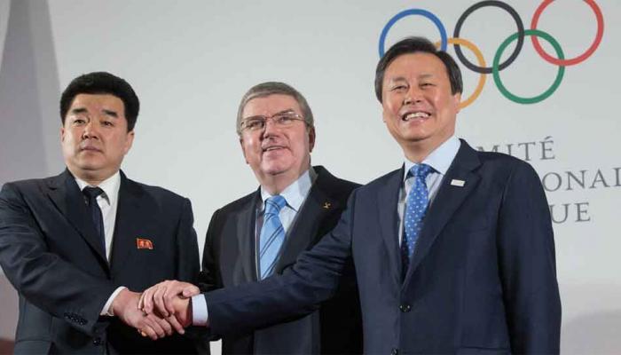 हिवाळी ऑलिम्पीक २०१८:उत्तर कोरियाचे २२ खेळाडू जाणार दक्षिण कोरियाला
