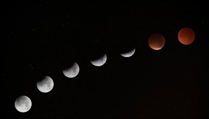 बुधवारी खग्रास चंद्रग्रहण - सुपरमून - ब्ल्यूमूनचा तिहेरी योग एकत्र