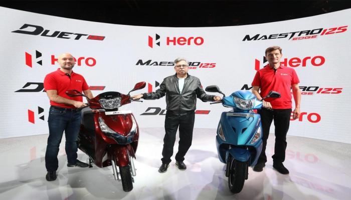 Auto Expo: हिरोने लॉन्च केल्या २ नवीन स्कूटर्स...