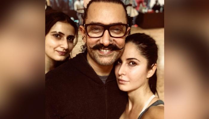 कतरिनाने शेअर केलेल्या फोटोमुळे आमिर ट्रोल, हे विचारले प्रश्न