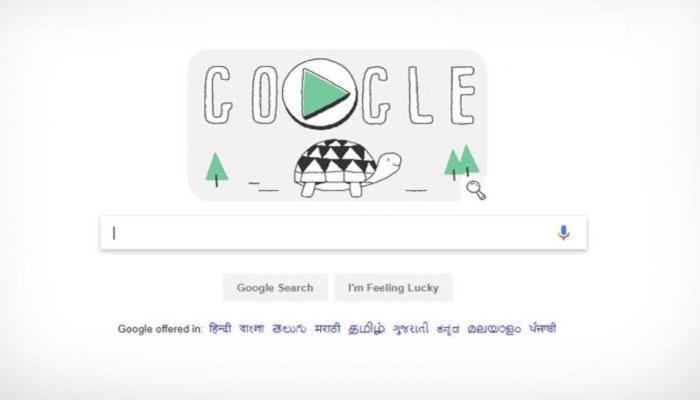 Winter Olympics Day 2018: गूगलच्या डूडलमध्ये वेगाने धावणारे कासव