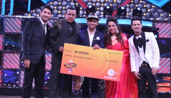डान्स इंडिया डान्सचा सीजन ६ चा मानकरी ठरला सांकेत गांवकर