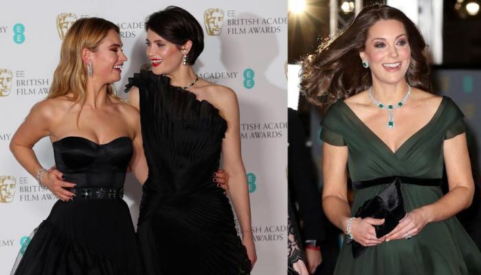 पाहा BAFTA 2018चे फोटोज, ग्लॅमरस लूकमध्ये दिसल्या हॉलिवूड अभिनेत्री