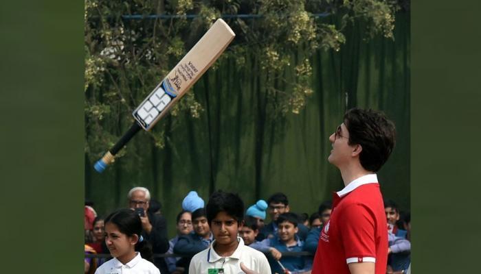 क्रिकेटच्या मैदानात जस्टिन ट्रुडोंना दिल्या कपिल देव आणि अझरुद्दीननी खास ट्रीप्स