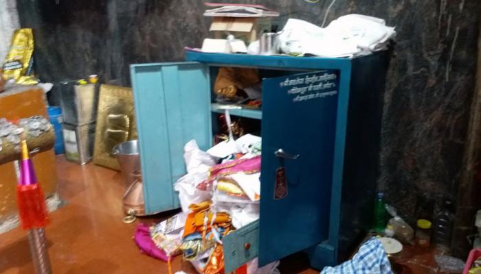 कोल्हापुरात काळभैरव मंदिरात चोरी, सोने-चांदीचे दागिने पळविले