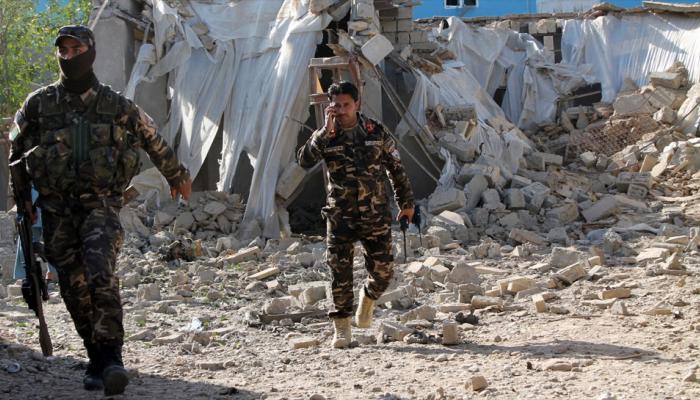 अफगाणिस्तानात आत्मघातकी हल्ले आणि बॉम्बस्फोट, १८ सैनिक ठार
