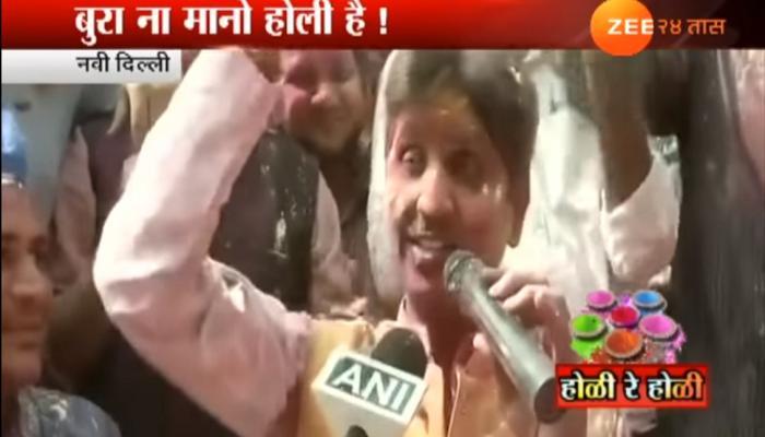 VIDEO : 'जोगीरा... साराराराsss' म्हणत कुमार विश्वासांचे शब्दबाण!