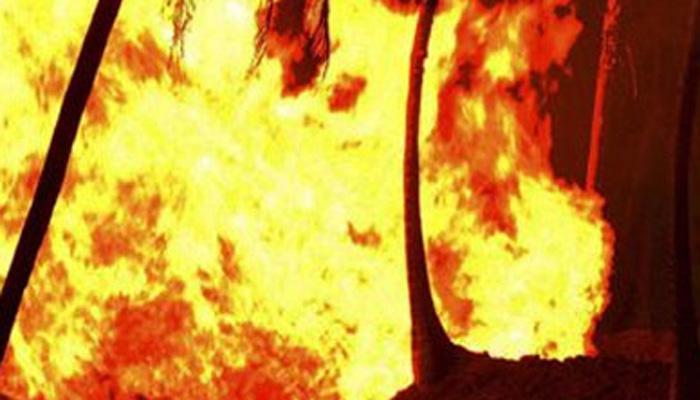 घाटकोपरमध्ये दुकानांना अचानक आग, जिवीतहानी नाही