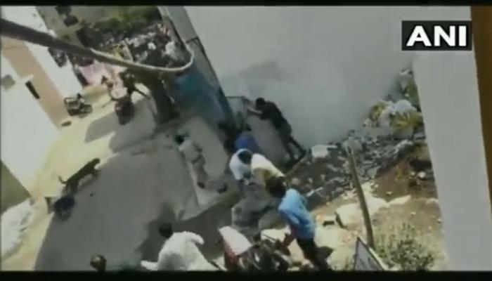 VIDEO: बिबट्याचा धुमाकूळ, बिबट्याच्या हल्ल्यात दोन जखमी