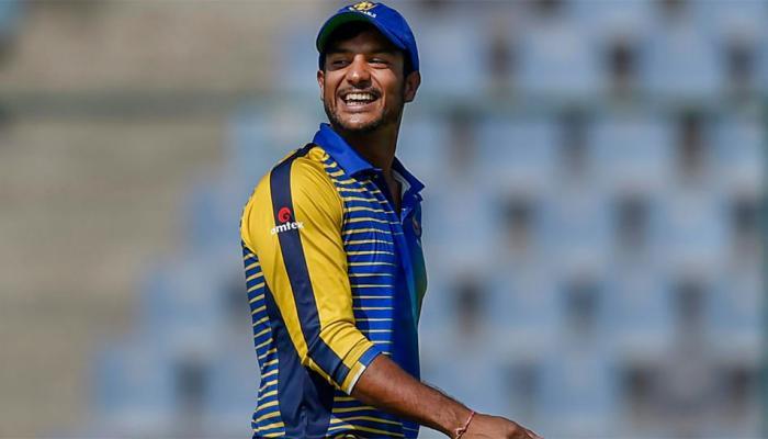 EXCLUSIVE: पप्पा म्हणाले क्रिकेट पॅशन आहे तर खेळ, अभ्यासाची चिंता नको - मयांक अग्रवाल