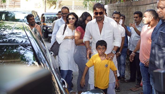 अजय देवगणच्या ७ वर्षाच्या मुलाने केला 'रेड'चा रिव्ह्यू