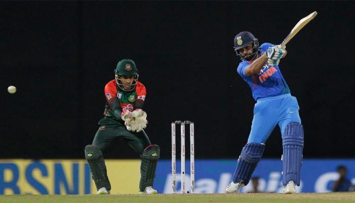 बांग्लादेशविरुद्धच्या टी-20 फायनलमध्ये भारतानं टॉस जिंकला