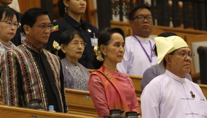 विन मिंत यांची म्यानमारच्या राष्ट्रपतीपदी निवड