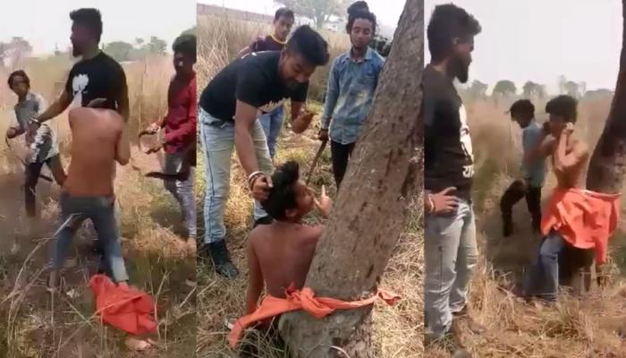 Viral Video: देवरियात 'गुंडाराज', तरुणाला बेदम मारहाण