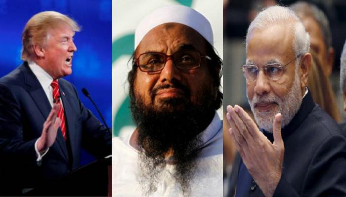 अमेरिकेचा हाफिज आणि पाकिस्तानला दणका, भारताकडून निर्णयाचं स्वागत