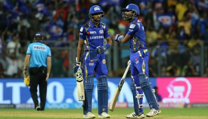 IPL: सलामीच्या सामन्यात मुंबईचं चेन्नईसमोर विजयासाठी १६६ रन्सचं आव्हान