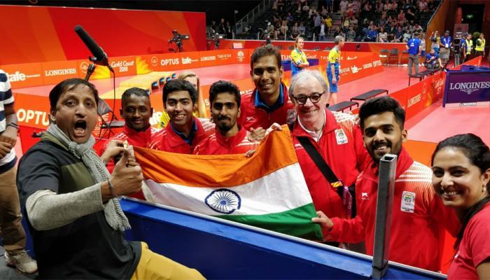 कॉमनवेल्थ गेम्समध्ये पाचवा दिवशी भारताचा 'षटकार', बॅडमिंटमध्ये गोल्ड