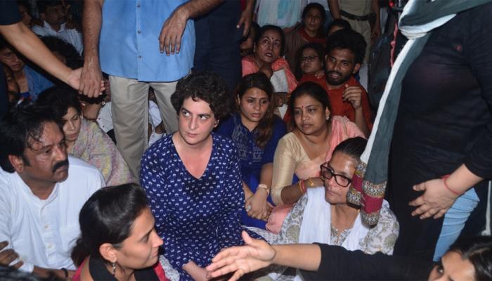 प्रियांका गांधी संतापल्यात, धक्का मारायचा असेल तर घरी जा!