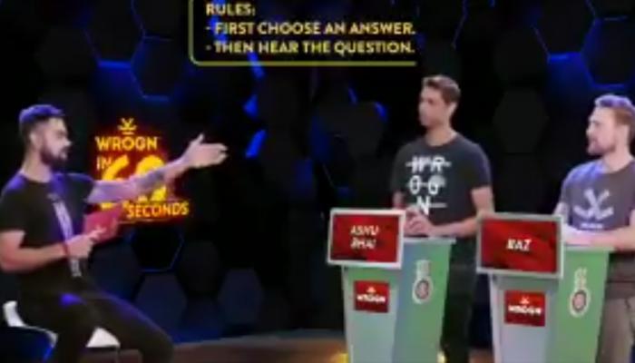 VIDEO : विराट कोहली नेहरा-मॅक्कलमला म्हणला 'यूजलेस'