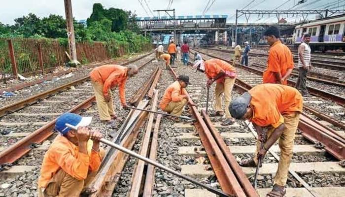 मुंबई: रेल्वेच्या तिनही मार्गांवर रविवारी मेगाब्लॉक