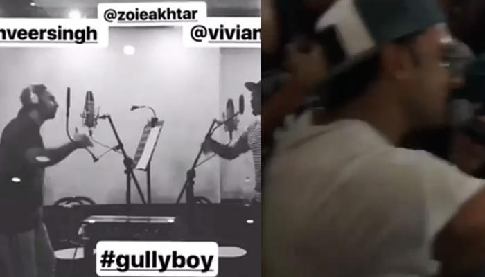 'गल्ली बॉय' चं शूटिंंग संपल्यानंतर रणवीर सिंंहने असंं केलं सेलिब्रेशन