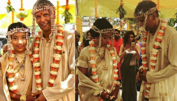 मिलिंंद सोमण आणि अंकिता कोंंवर आज अडकले लग्नबंधनात