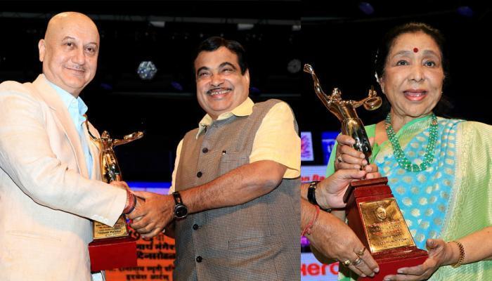अमजद अली खान, आशा भोसले,अनुपम खेर यांंना यंदाचा मास्टर दीनानाथ मंगेशकर पुरस्कार