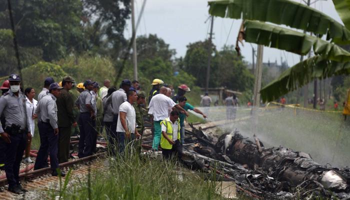 क्युबामध्ये विमान कोसळून १०० पेक्षा जास्त प्रवाशांचा मृत्यू