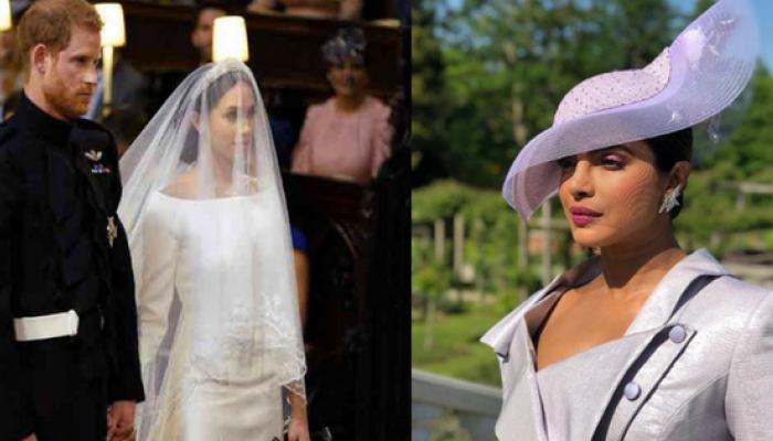 Royal Wedding :  प्रिंस हॅरी आणि मेगन मार्कलच्या लग्नात प्रियांंका चोप्राची अशी झाली एन्ट्री