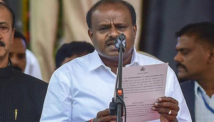 कुमारस्वामी यांनी विश्वासदर्शक ठराव जिंकला, कर्नाटकात काँग्रेस-जेडीएसचे सरकार