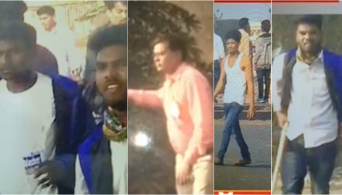 कोरेगाव भीमा हिंसाचार: राहुल फटांगडेच्या हल्लेखोरांची रेखाचित्र प्रसिद्ध