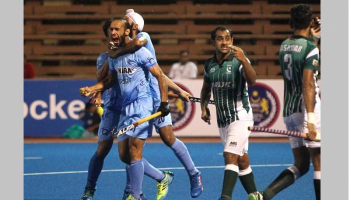 हॉकी चॅम्पियनशिप: भारताचा पाकिस्तानवर 4-0 ने दणदणीत विजय