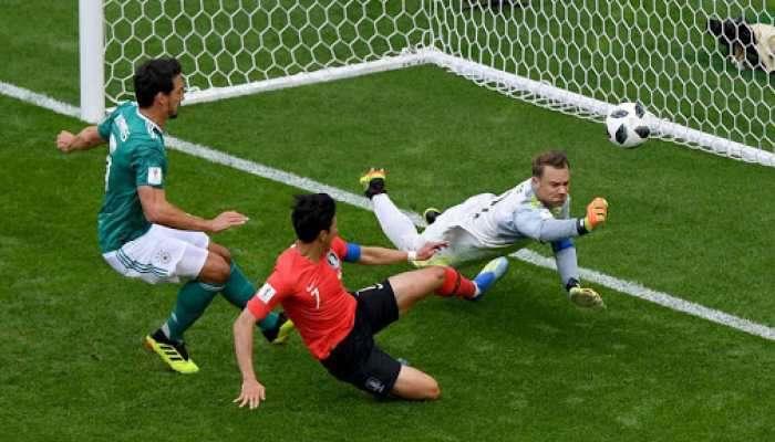 फिफा फुटबॉल : जर्मनी स्पर्धेतून आऊट, दक्षिण कोरियाचा सनसनाटी विजय