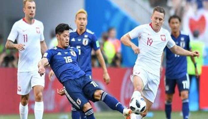 जपानचा फुटबॉल विश्वचषकाच्या बाद फेरीत प्रवेश